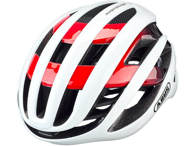 ABUS AirBreaker Helmet white/red